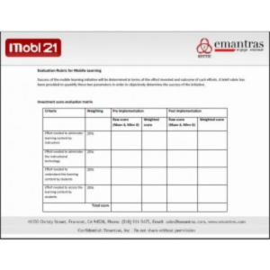 Measure Mobile Learning Success With Evaluation Rubrics icon