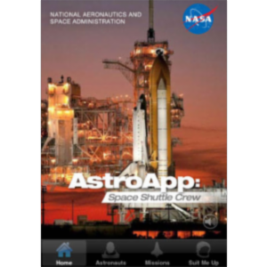 AstroApp: Space Shuttle Crew App for iOS icon