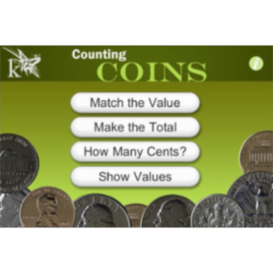 Counting Coins App for iOS icon