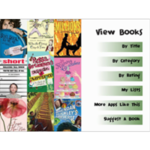 Best Books for Tweens App for iPad icon