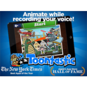 Toontastic App for iPad icon