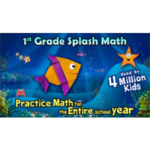 1st Grade Splash Math Worksheets App for iOS icon