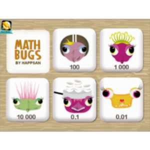 Math Bugs Full App for iPad icon