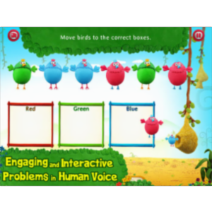 Splash Math Kindergarten App for iPad