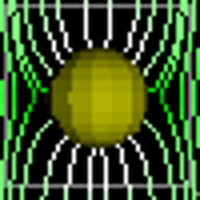 3-D Vector Electrostatic Field Applet icon