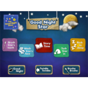Sprout's Good Night Star HD App for iPad icon