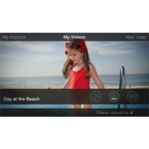 Videolicious App for iOS icon