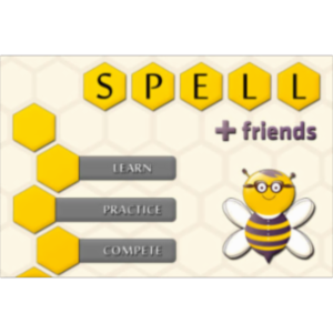 Spell + Friends App for iOS icon
