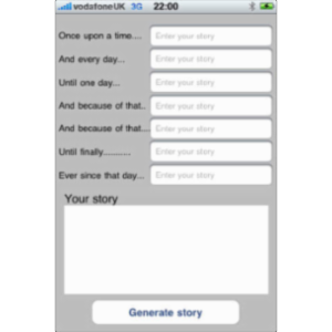 Story Spine App for iOS icon
