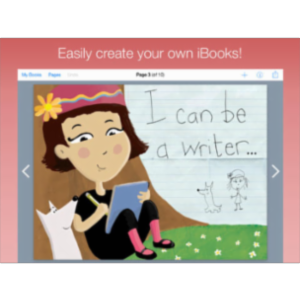 Book Creator Free App for iPad icon