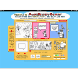 Make Beliefs Comix App for iPad
