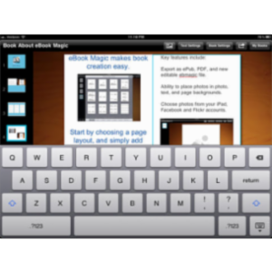 eBook Magic+ App for iPad icon