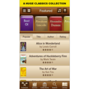 Books - 23,469 Classics To Go App for iOS icon