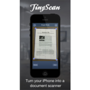 TinyScan App for iOS icon