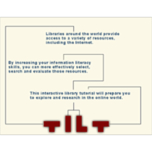 TILT - Texas Information Literacy Tutorial