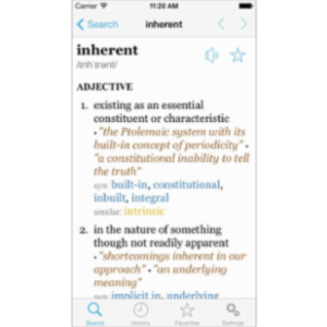 LexicEN English Dictionary/Thesaurus App for iOS icon