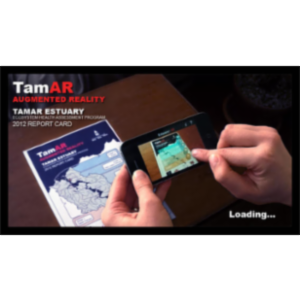 TamAR Estuary Augmented Reality Report Card App for iOS icon