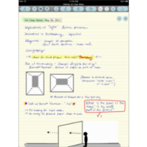 Note Taker HD App for iPad icon