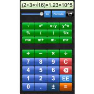 Talking Calculator App for iOS icon