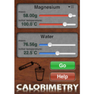 Calorimetry Simulator App for iOS icon