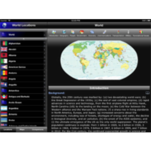The World Factbook App for iPad