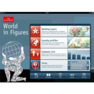 The World In Figures App for iPad icon