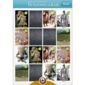 Britannica Kids: Aztec Empire App for iOS icon