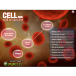 Cell and Cell Structure App for iPad icon