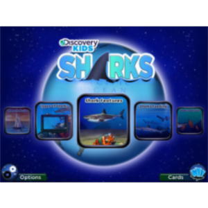 Discovery Kids Sharks App for iPad icon