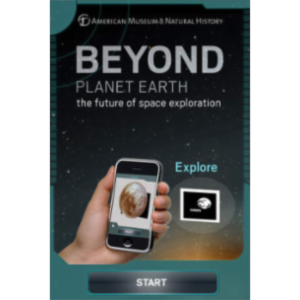 Beyond Planet Earth Augmented Reality App for iOS icon