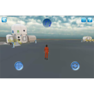 NASA Desert RATS Virtual Test Site App for iOS icon