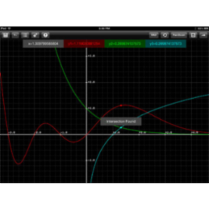 Graphing Calculator HD App for iPad icon