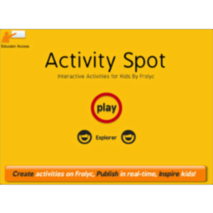 Activity Spot By Frolyc : Reading, Writing, Science, Social Studies & Math Activities App for iPad icon