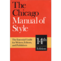 The Chicago Manual of Style FAQ (and not so FAQ)