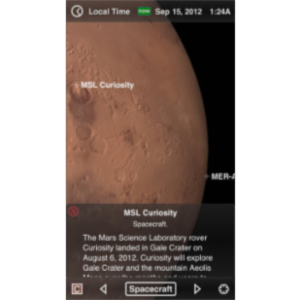Mars Globe App for iOS icon