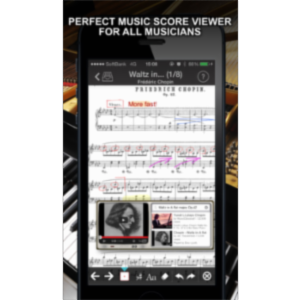 "Sheet Music Reader ""piaScore"" App for iOS icon"