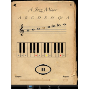 Scales & Modes App for iPad icon