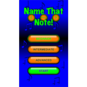 Name That Note App for iOS icon