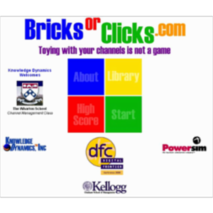BricksOrClicks Channel Conflict Simulation icon