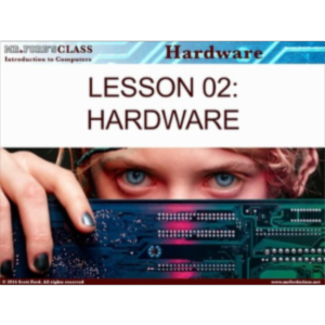 Introduction to Computers: Lesson 2 Computer Hardware (w/ exclusive videos) icon