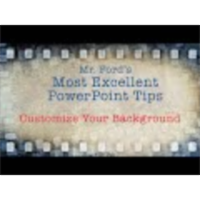 Customize PowerPoint Background: Most Excellent PowerPoint Tips icon