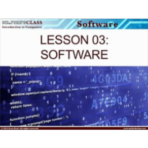 Introduction to Computers: Lesson 3 Computer Software (w/ exclusive videos) icon