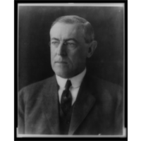 Woodrow Wilson: Audio file of speech about democratic principles.