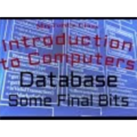 Review: Database (08:04): Some Final Bits