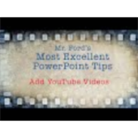 Add YouTube Videos To Your Presentation: Most Excellent PowerPoint Tips icon