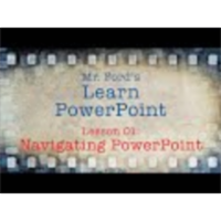 Learn PowerPoint : 01 Navigating PowerPoint icon