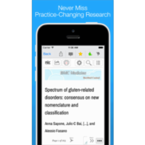 Read: Personalized Medical & Scientific Journal App for iOS icon