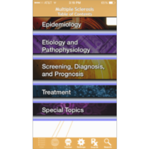 Multiple Sclerosis @Point of Care™ App for iOS icon
