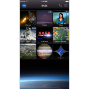 NASA App for iOS icon