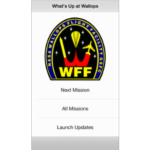 What's Up at Wallops App for iOS icon